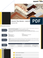 Ceramic Tiles Market in India 2018 - Part-II