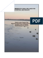 Minnesota DNR Shallow Lakes Plan