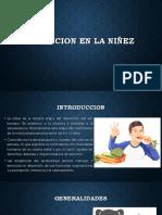 Nutricion en La Niñez
