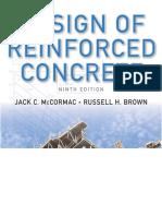 Design of Reinforced Concrete 9th Edition - Jack c. Mccormac 2