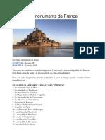 Les Beaux Monuments de France