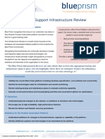 Blue Prism Data Sheet - Infrastructure Review