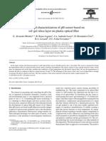 Design and Characterization of pH Sensor