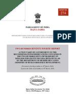 274 Th Report - HRD - Satya Narayan Jatiya