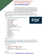 Advanced Computing an International Journal ACIJ