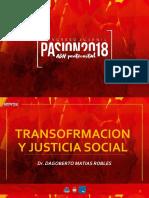 Transformacion y Justicia Social