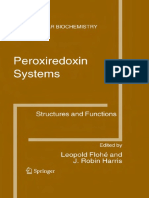 Peroxiredoxin Systems Structures and Functions