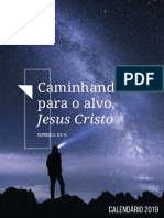 Calendário de Atividades 2019 da PIB São Miguel Paulista