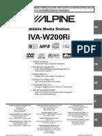 Apline Stereo IVA-W200Ri