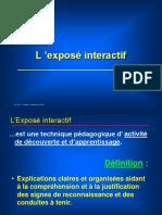 05 Exposé Interactif