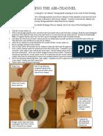 Rinsing Instructions
