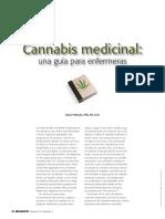 Cannabis Medicinal Una Guia Para Enfermeras