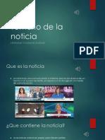 Temario de La Noticia