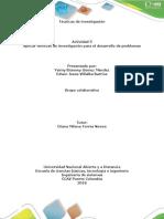 Actividad 5 - Aplicar Técnicas de Investigación Para El Desarrollo de Problemas