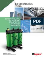 Catálogo Transformadores de Resina 2017 Chile