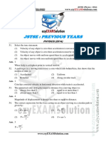 JSTSE Physics 2014 Ezyexamsolution.com