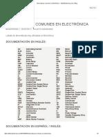 Abreviaturas Comunes en Electrónica – TallerElectronica.com _ Blog