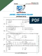 JSTSE Physics 2013