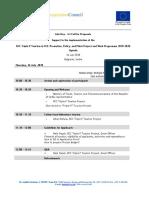4.6. Info Days Agenda_Belgrade