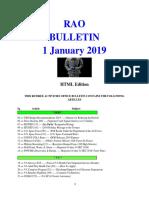 Bulletin 190101 (HTML) Edition