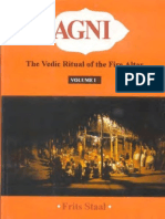 Agni the Vedic Ritual of the Fire Altar Frits Staal Vol 1