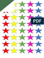 Stiker Bintang