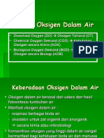 Analisis Oksigen Dalam Air