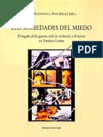 Las Sociedades Del Miedo PDF