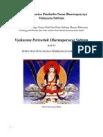Vyakarana Parivartah Dharmaparyaya Suttram