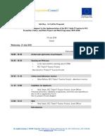 4.5. Info Days Agenda_Skopje