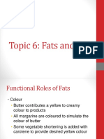 Topic 6 Fat