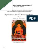 Stupa Samdarsana Parivartah Dharmaparyaya Suttram