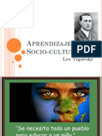 Aprendizaje Socio Cultural