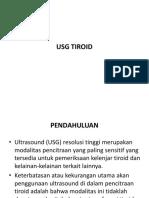 Usg Tiroid Ppt