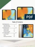 iPad Pro 2019 Strategy