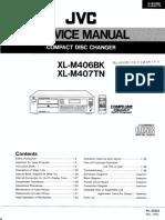 Jvc Xl-m406bk m407tn