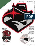 UNLV logo explanation
