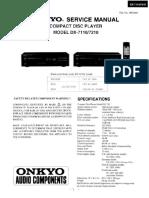 Onkyo Dx-7110 7210