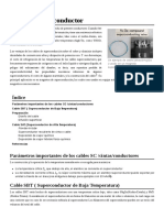 Cable de Superconductor