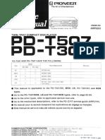 Pd-t307 t507