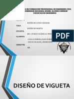 8. Diapositivas Diseño de Viguetas
