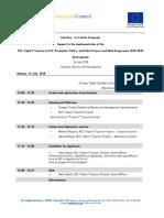4.1. Info Days Agenda_Sarajevo
