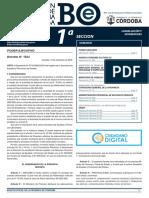 Incremento en la tarifa de peajes - Boletín Oficial