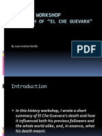 History Workshop 2018 - The Death of El Che Guevara PPT (1)