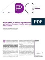 Reforma de La Justicia CIPPEC