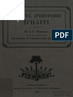 Manuel d'Histoire D'Haiti