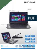 Notebook MAX G01