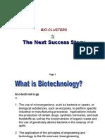 Bio Clusters