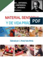libro montessori vida practica y sensorial realizada por WENDY MERIDA