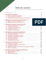 Cours D'analyse Numérique